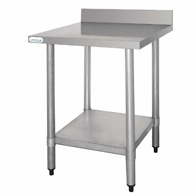 Stainless Steel Work Table with Splashback 90 (B) x60 CM