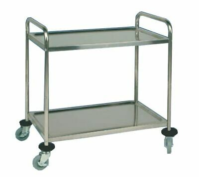 Serving Cart Transporter, 855x535x930mm, with 2 Borden Clearing Trolley
