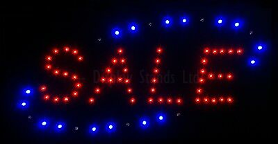 CLEARANCE LED Sale Sign Static Flashing Retail  (CLR059)