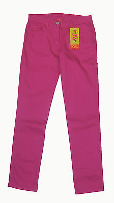 Cfl Children's Girl's Jeans Tube Narrow Trousers Stretch Trousers Pink 548857