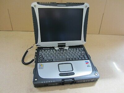 Spring Sale Panasonic Toughbook Cf-18 Digitizer Industrial Rugged Tablet, Win 7