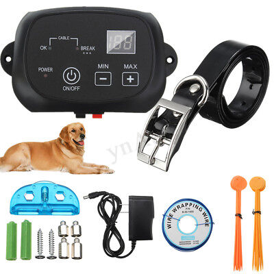 Waterproof Wireless Electric Dog Pet Fence Containment System Transmitter