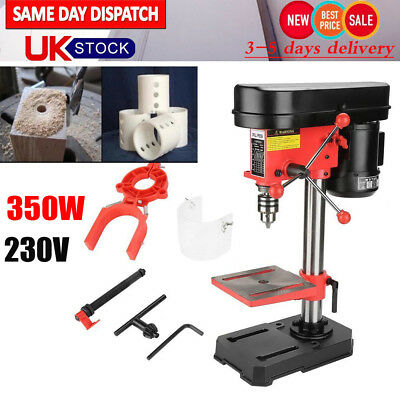 350W MIni DIY Bench Drill Stand Mini Electric Bench Drilling Machine Drill Chuck