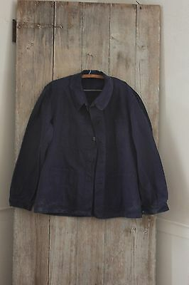 Chore coat Work wear French blue jacket Farmer clothing Bill Cunningham denim