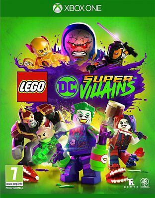 LEGO DC Super-Villains (Xbox One)  NEW AND SEALED - IN STOCK - QUICK DISPATCH