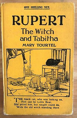 Mary Tourtel Rupert the Witch & Tabitha Little Bear Library No 29 1930's VG