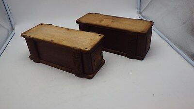 Antique ORNATE Treadle  Sewing Machine 2 Drawers Original 2 Sets of 1 #5