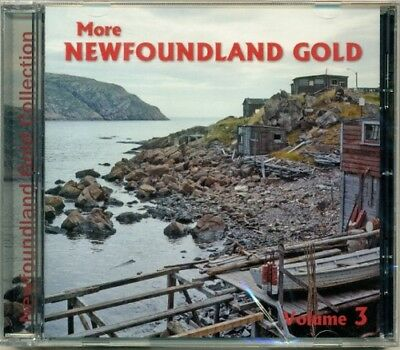 More Newfoundland Gold Volume 3  HTF Canadian Newfie Folk CD (Brand New!)