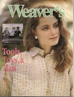 Weaver's magazine 5: Tools, toys, tips. Loom sculptured dolls.   EXTREMELY RARE