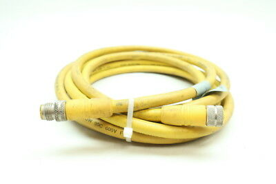 MALE//FEMALE CORDSET CABLE LUMBERG RST4RKT4-S798//1M