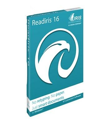 ReadIRIS Pro 16 OCR Electronic Download for Windows PDF & Document Management
