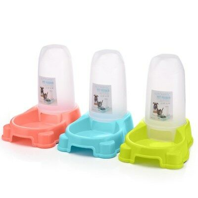 Pet Water Fountain For Cat Dog Automatic Waterer Dish Bowl Feeder Dispenser USA