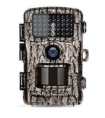 Foxelli Trail Camera 14MP 1080P Full HD Wildlife Scouting Hunting SecurIty
