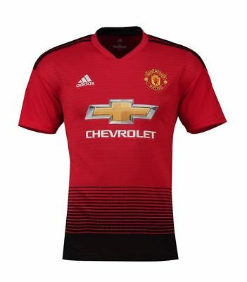 Manchester United Home Shirt 18/19 - Man Utd Kit - Football Jersey - Adult Sizes