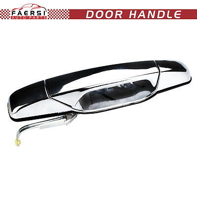 Chrome Rear Exterior Outside Door Handle Left LH for Chevy Truck 15758171