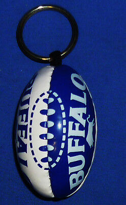 New WT Mini AFL Football Footy Supporters Key Ring Geelong Cats 6.5 cm x 4 cm