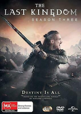 The Last Kingdom : Season 3 - DVD Region 4 Free Shipping!
