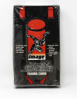 1994 Images Of Shadowhawk Trading Cards Factory Sealed Box