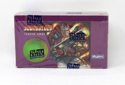 1995 Skybox Youngblood Trading Cards Factory Sealed Box 24 Packs