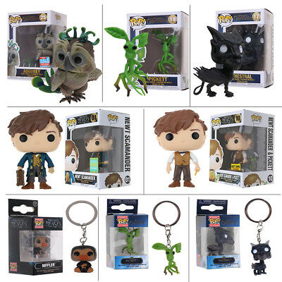 Funko Pop Fantastic Beasts and Where to Find Them:Augurey Pickett Newt Scamander