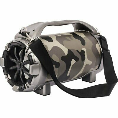 Blackmore 750W Portable Rechargeable Bluetooth Speaker with Mic Input - Camo