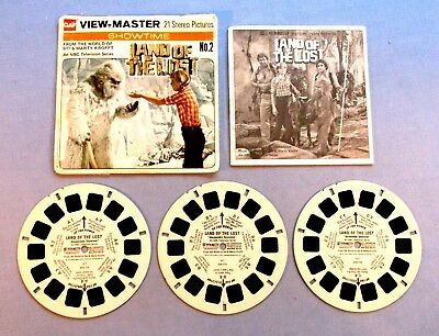 Viewmaster Reels - Land Of The Lost - Set With Booklet In Very Good Condition