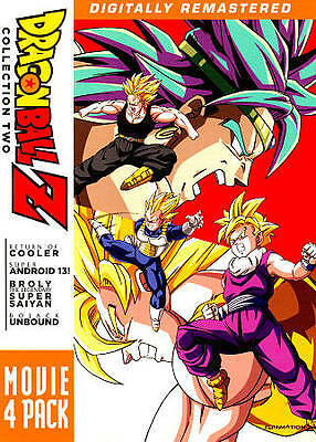 Dragon Ball Z Movie Collection 2 DVD (Movies 6-9)  DVD