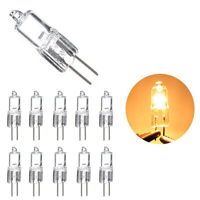 5/10X 12v G4 5W 10W 20W 35W 50W Halogen Bead Pin Bulb Lighting Bulb Replaceable