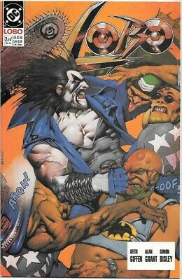 Lobo Comic Book Limited Series #2 DC Comics 1990 NEAR MINT NEW UNREAD