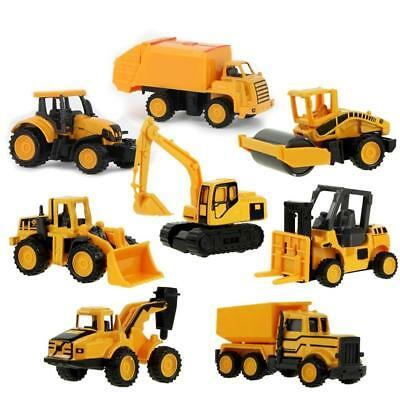 Mini Alloy Engineering Car Tractor Toy Dump Truck Model Classic Kids Toy Cars