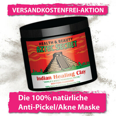 Aztec Secret Black Edition - Anti Pickel Maske - Gegen Akne & Fettige Haut