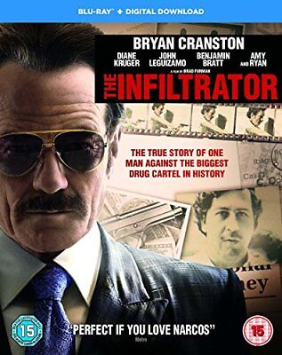 The Infiltrator [Blu-ray + Digital Download] [2017] [Region Free] -  CD TVVG The