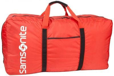 """Samsonite Tote-a-ton 32.5"""" Duffle Luggage Camp College Storage Collapsible Red"""