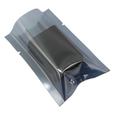 Assorted Open Top Plastic Anti-Static ESD Shielding Bag Vacuum Electronic Pouch