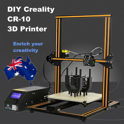 Creality CR-10 3D Printer 300*300*400mm Large Printing Size 1.75mm 0.4mm Nozzle