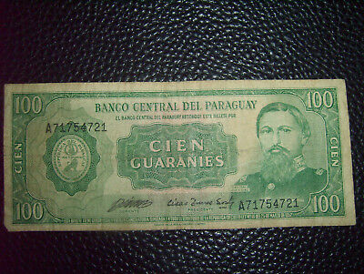 Paraguay Banknote