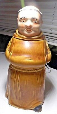 Vintage German Character Beer Stein - c.1950s-196 Monk by KING Werk  #289