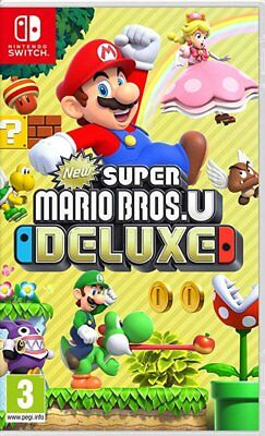 New Super Mario Bros. U Deluxe (Switch)  BRAND NEW AND SEALED - QUICK DISPATCH