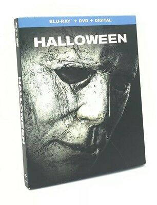 Halloween [2018] (Blu-ray+DVD+Digital, 2019) NEW w/ Slipcover
