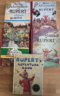 RUPERT BEAR FACSIMILES 1936 1937 1938 1939 1940 Fine or Better JANUARY SALE!