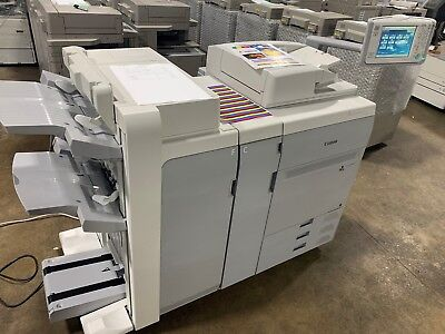 Canon Imagepress  C800 With Booklet Finisher and  Imageserver F200