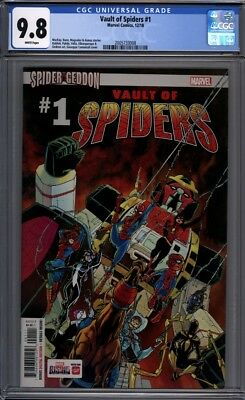 Vault of Spiders #1  Spider-Man Spider-Verse  Marvel Comics 1st Print  CGC 9.8