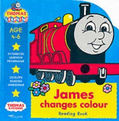 James Changes Colour: Reading Book (Thomas the Tank Engine Learning Programme),