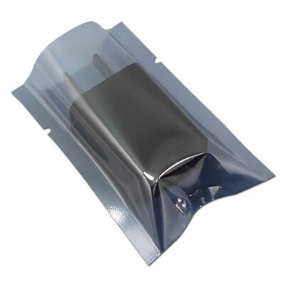 Flat Open Top Plastic Anti-Static ESD Shielding Bag Vacuum Electronic Pouch