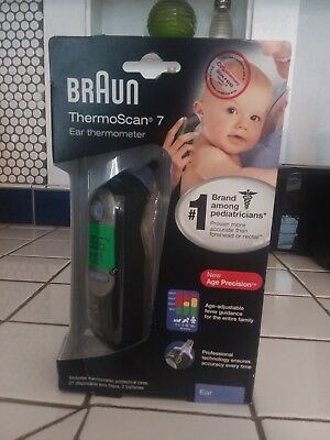 NEW Braun ThermoScan 7 IRT6520 Baby/Adult Professional Digital Ear Thermometer