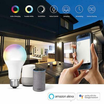 FEIT Electric LED Smart WiFi Color Changing & Tunable Bulb (BPA800-RGBW-AG-2)