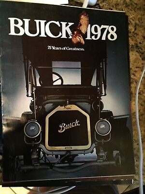 1978 Buick Dealer Sales Brochure