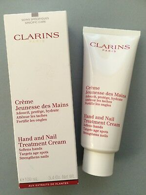 CLARINS HAND AND NAIL TREATMENT CREAM 100ml Brand New in Box