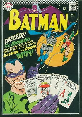 Batman #179 F- (Riddler)