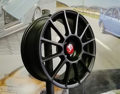 A set of four brand new wheels 7,5jx17 fit 500 ABARTH, ESSESSE, 595, 695  (B)